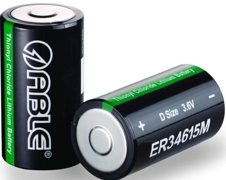 ER34615M LiSOCL2 battery