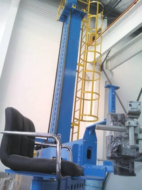 Automatic welding centre