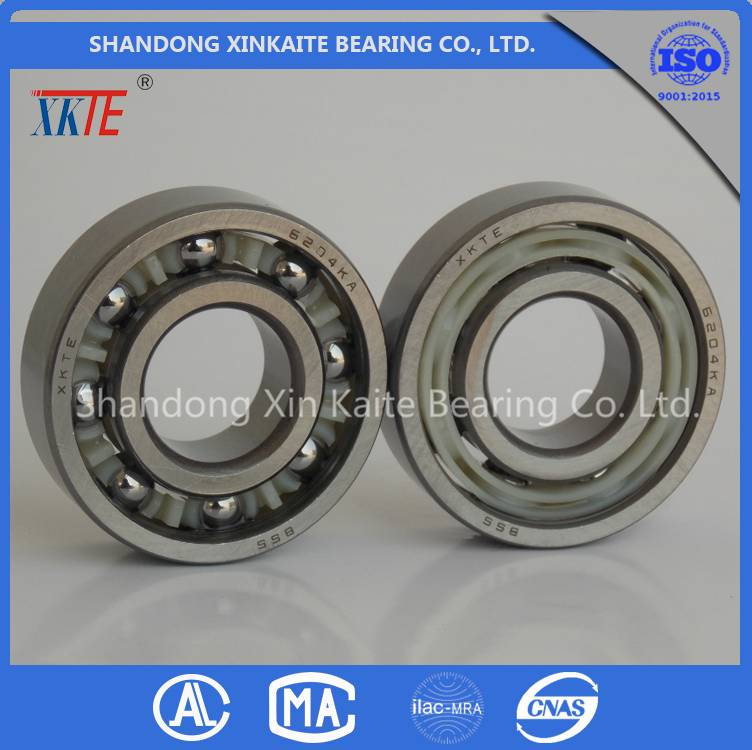 High Quality XKTE Conveyor Roller Bearing 6204 TN/TN9/C3/C4 from china bearing Manufacturer