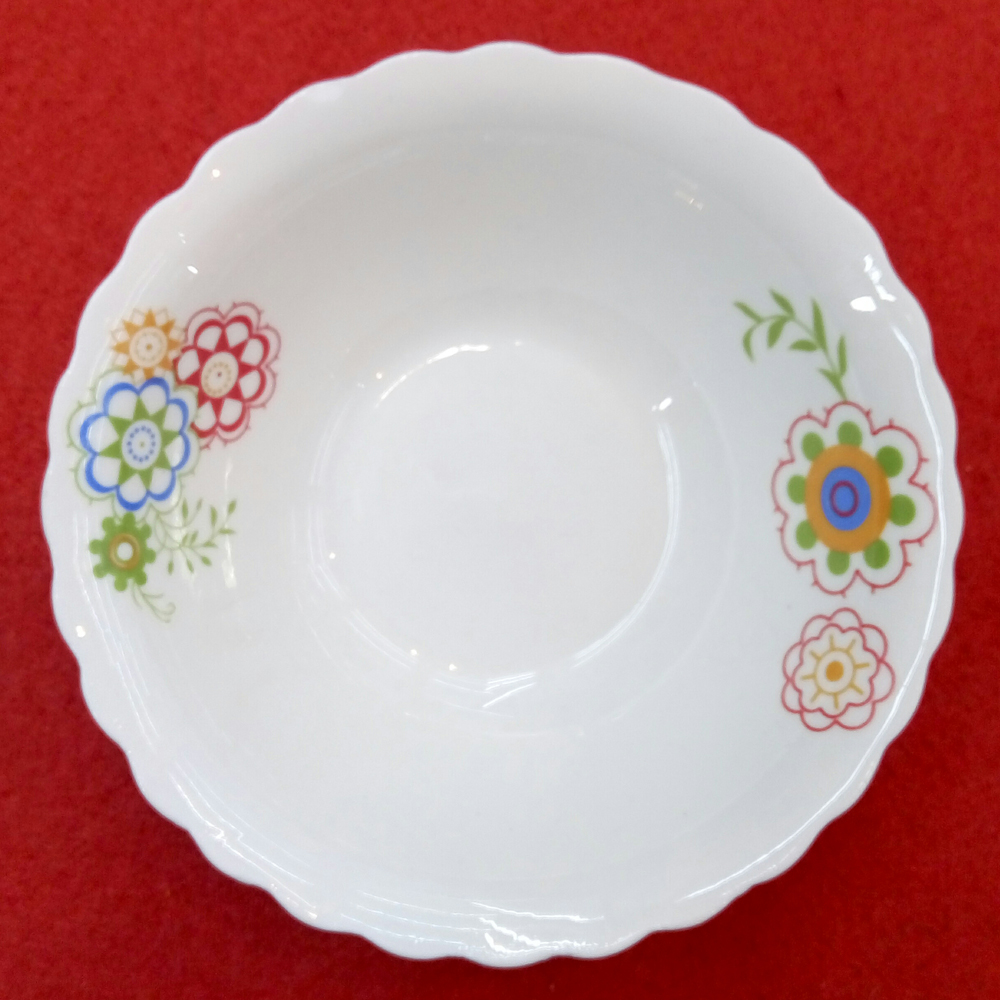 chinese style ceramic salad bowl