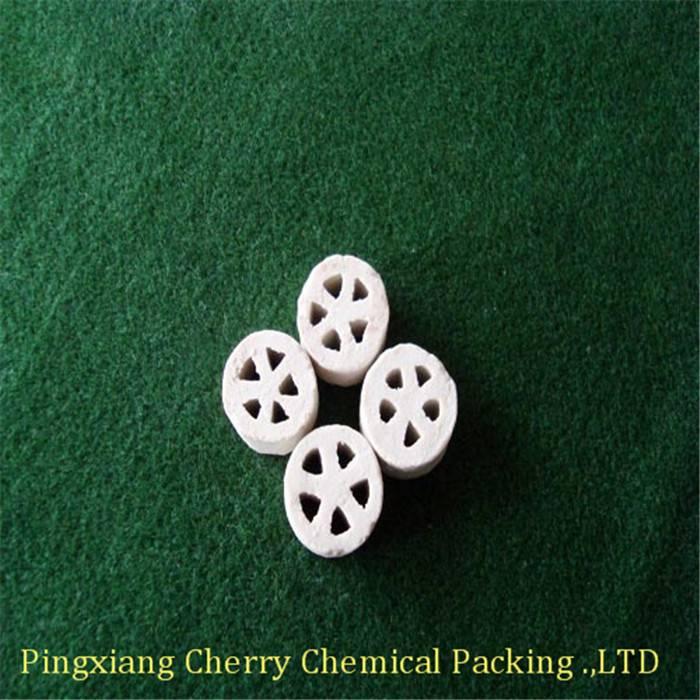Ceramic plum blossom ring