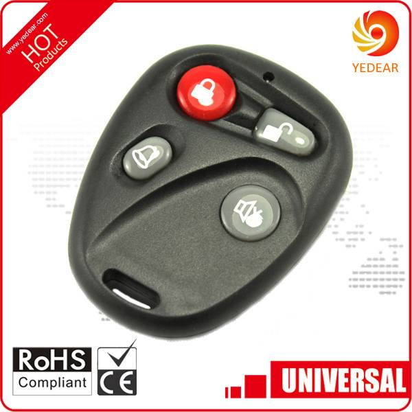 Yedear Wireless RF Garage Door Universal Remote Control YD027-BK04