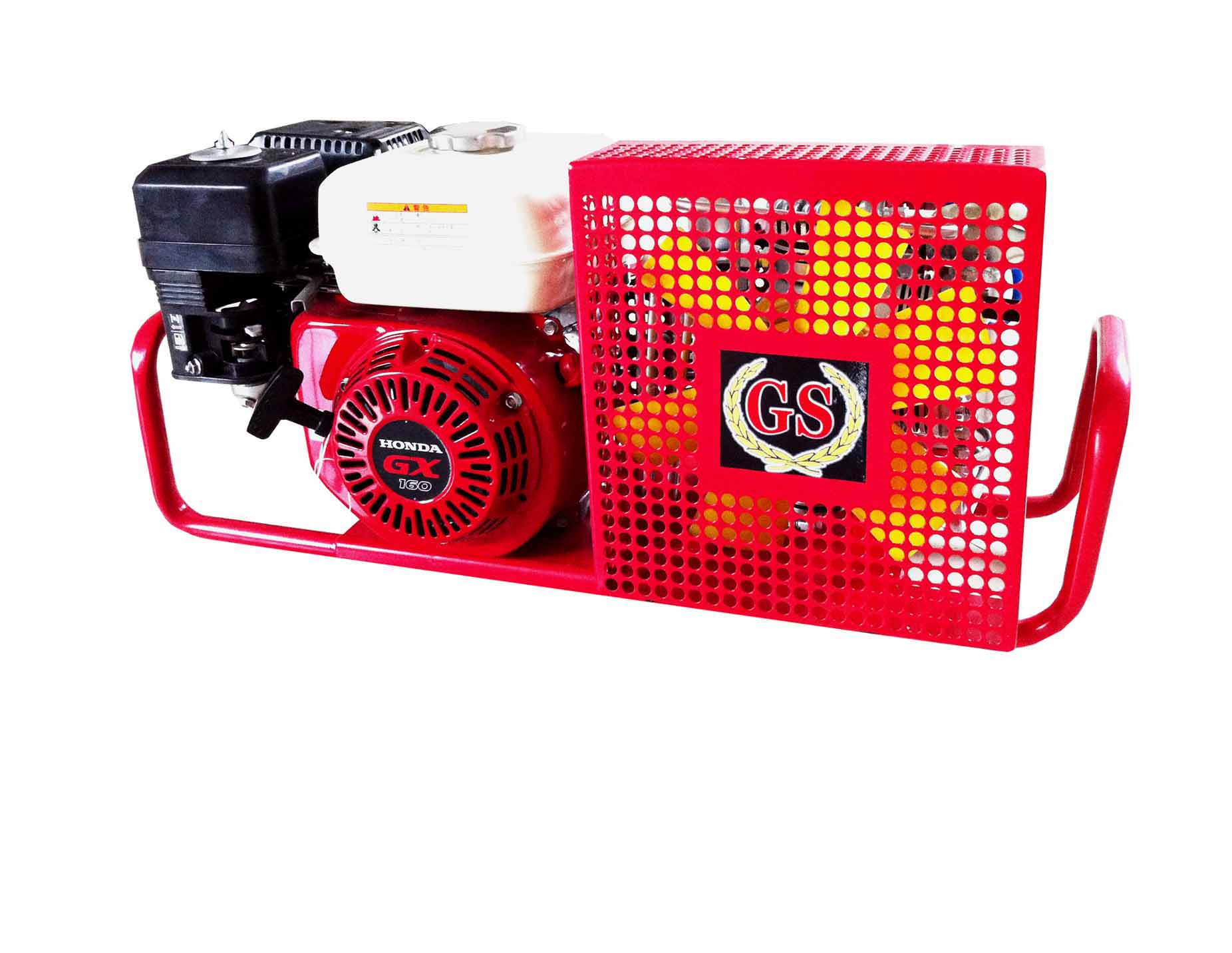 Underwater breathing apparatus of air compressor(200 bar 20 mpa 4500psi 50HZ gasoline)