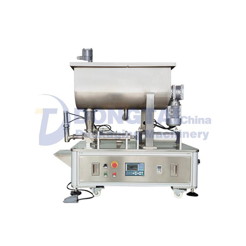Semi-automatic granular sauce filling machine for caviar,shrimp paste