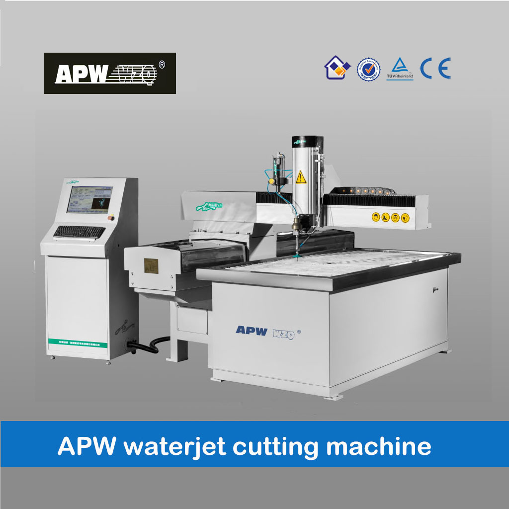 CNC high speed cantilever style waterjet cutting machine