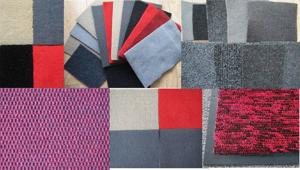 Universal Needle punch Velour Car Carpet rolls Size: 1.6/1.8/2m*20m+backing: PVC/TPR/Nib/Crumb Rubbe