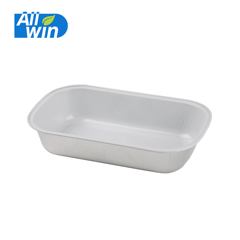 Food Grade Disposable Aluminum Foil Airline Food Container/Tray