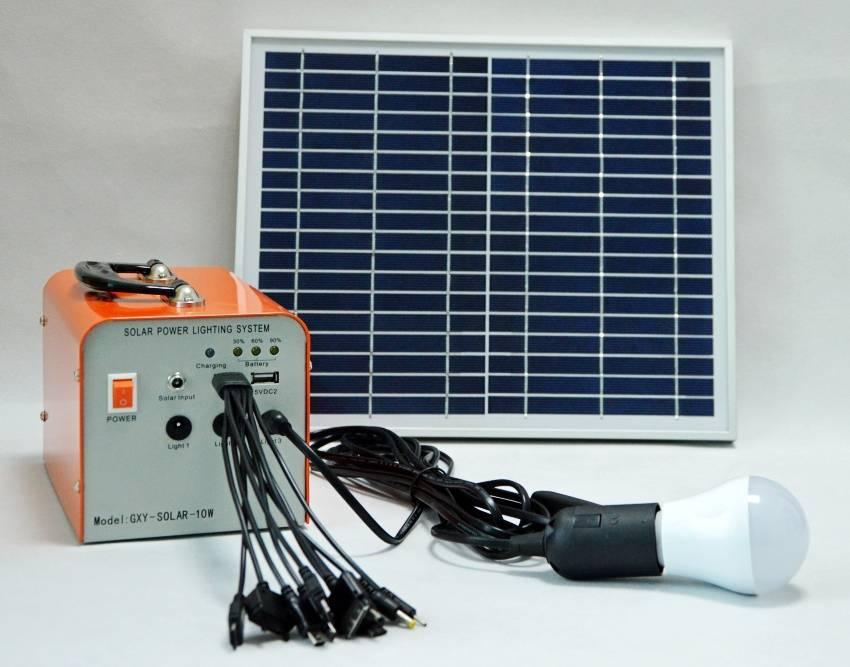 20w solar light system solar lamp kits