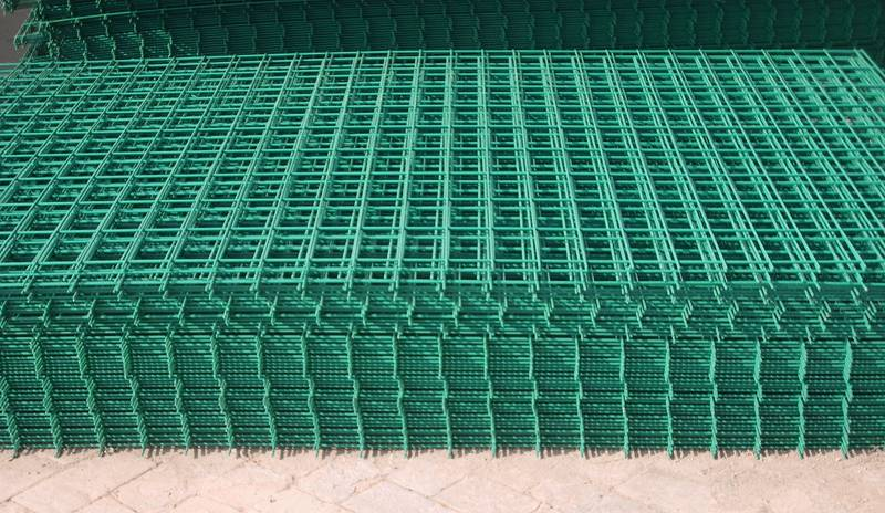 plastic coated welded wire mesh panel