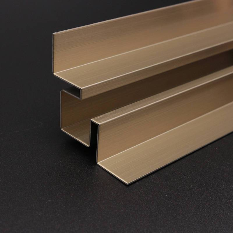 Multipurpose stainless steel metal trim for house/hotel decoration