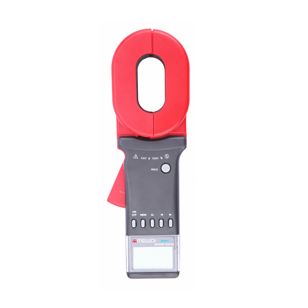 MEWOI3000+-0.01-1200ohm Clamp On Earth Ground Resistance Tester/Meter,earth ground tester,GEO Tester