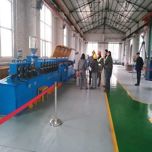 Submerged arc flux-cored wire production line