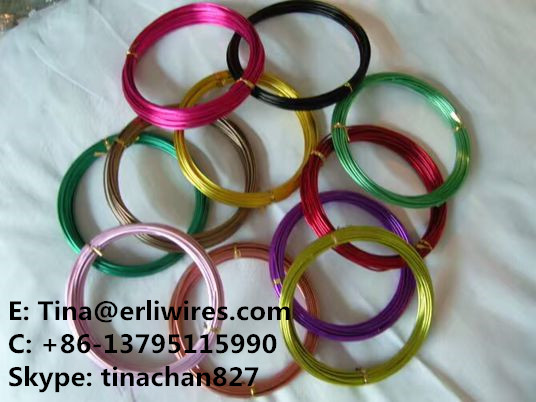 Painted Stitching Wire