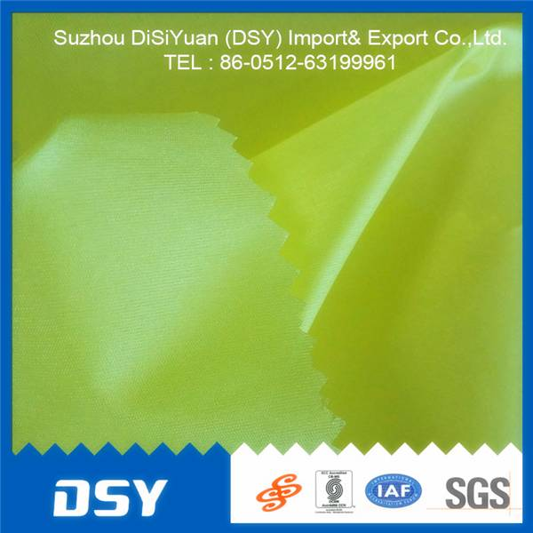 waterproof cheap Bright nylon taffeta fabric from China suzhou