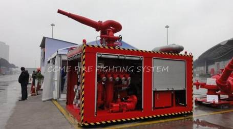 2100 rpm Marine Containerized Fire Fighting System