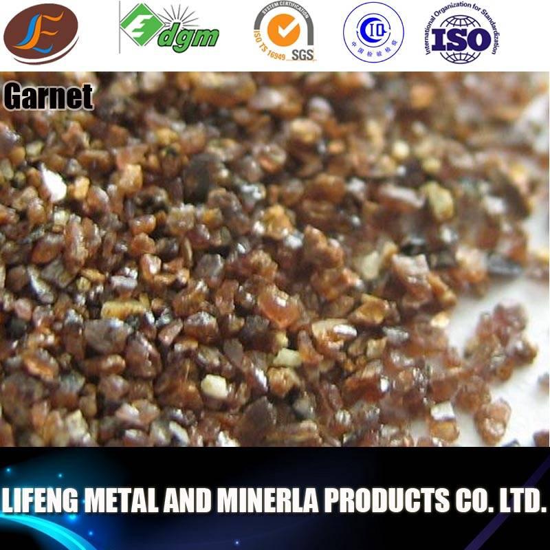 China Garnet for Sand blasting