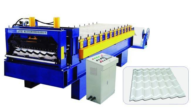 Ancient Type Tile Forming Machine
