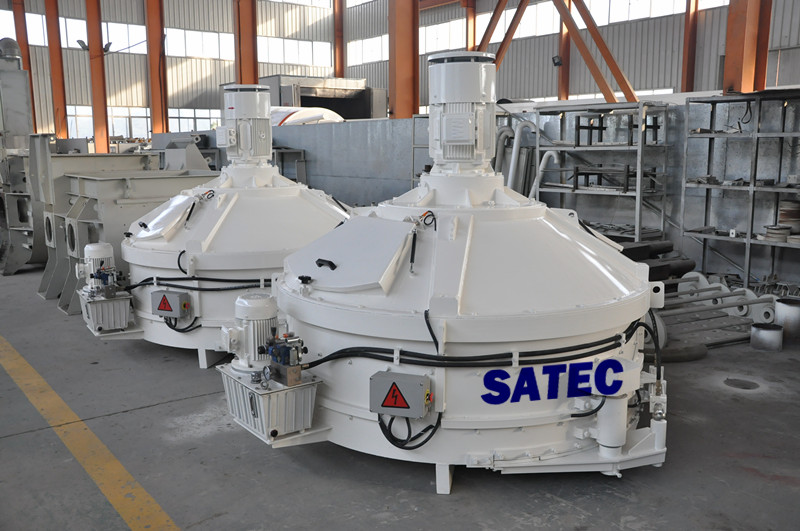 SMP1500/1000 SATEC Batching Plant Mixer