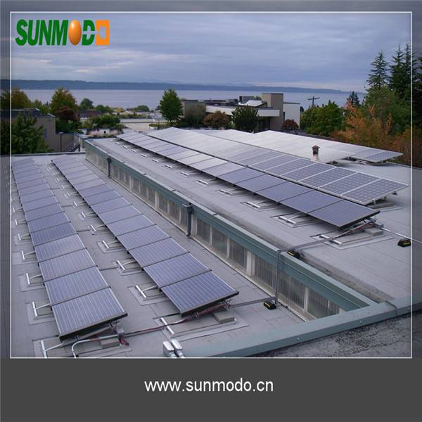 Ballasted solar mounting system