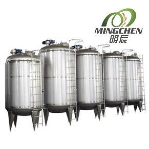 1000L-10000L vertical stainless steel storage tank price