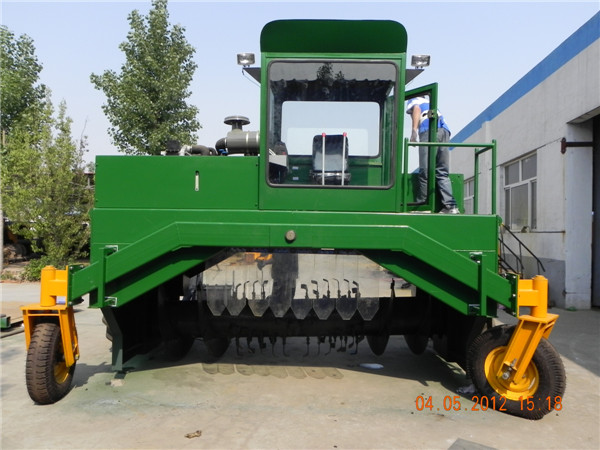 M3200II compost turner, compost mixer machine