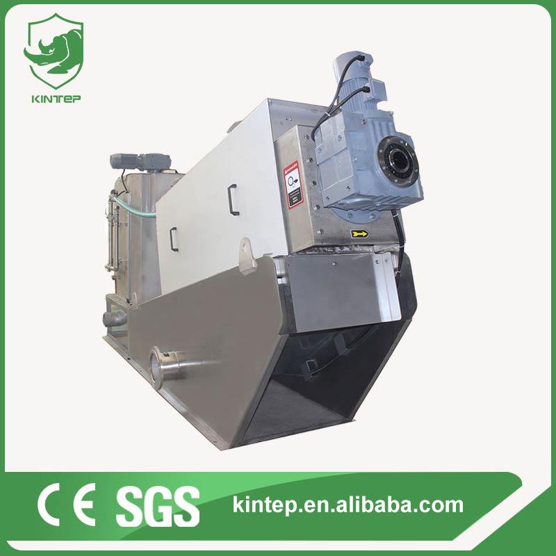 Volute dewatering press machine