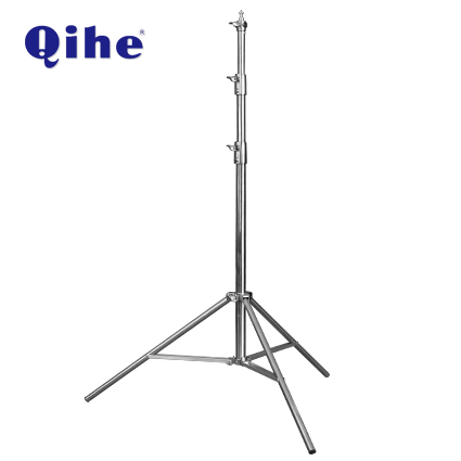 QH-288S Stainless Steel Light Stand,2.62M Height