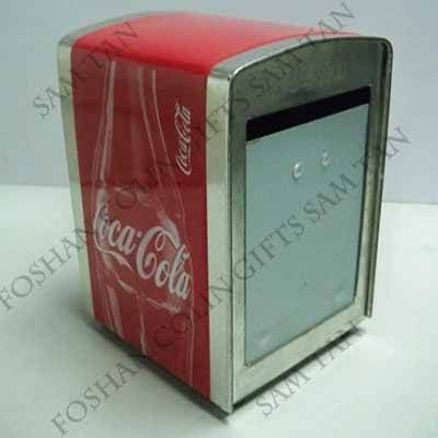 Tissue box restaurant Non-frame napkin holder/dispenser
