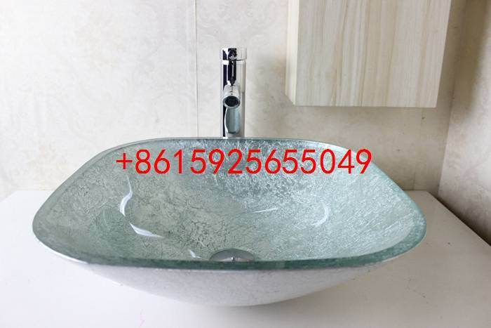 bathroom basin,glass sink,wash basin vessel sink wash sink bathroom cabinet sink n-739