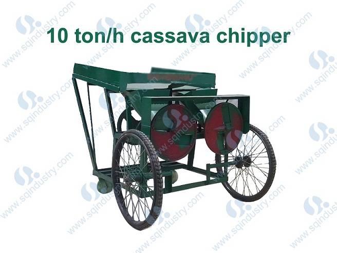 10ton/h cassava chipper(Model:SQCWP-10)