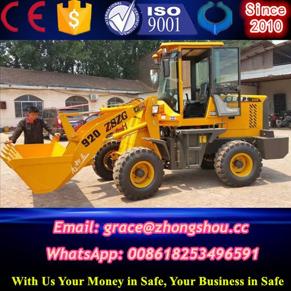 small front wheel loader price
