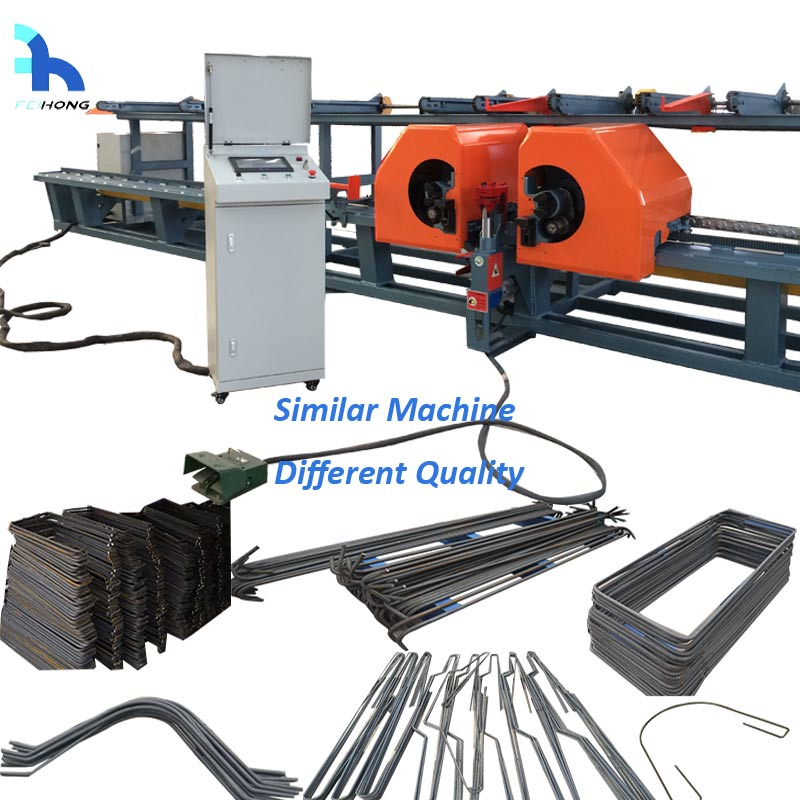 rebar cutting bending machine in china