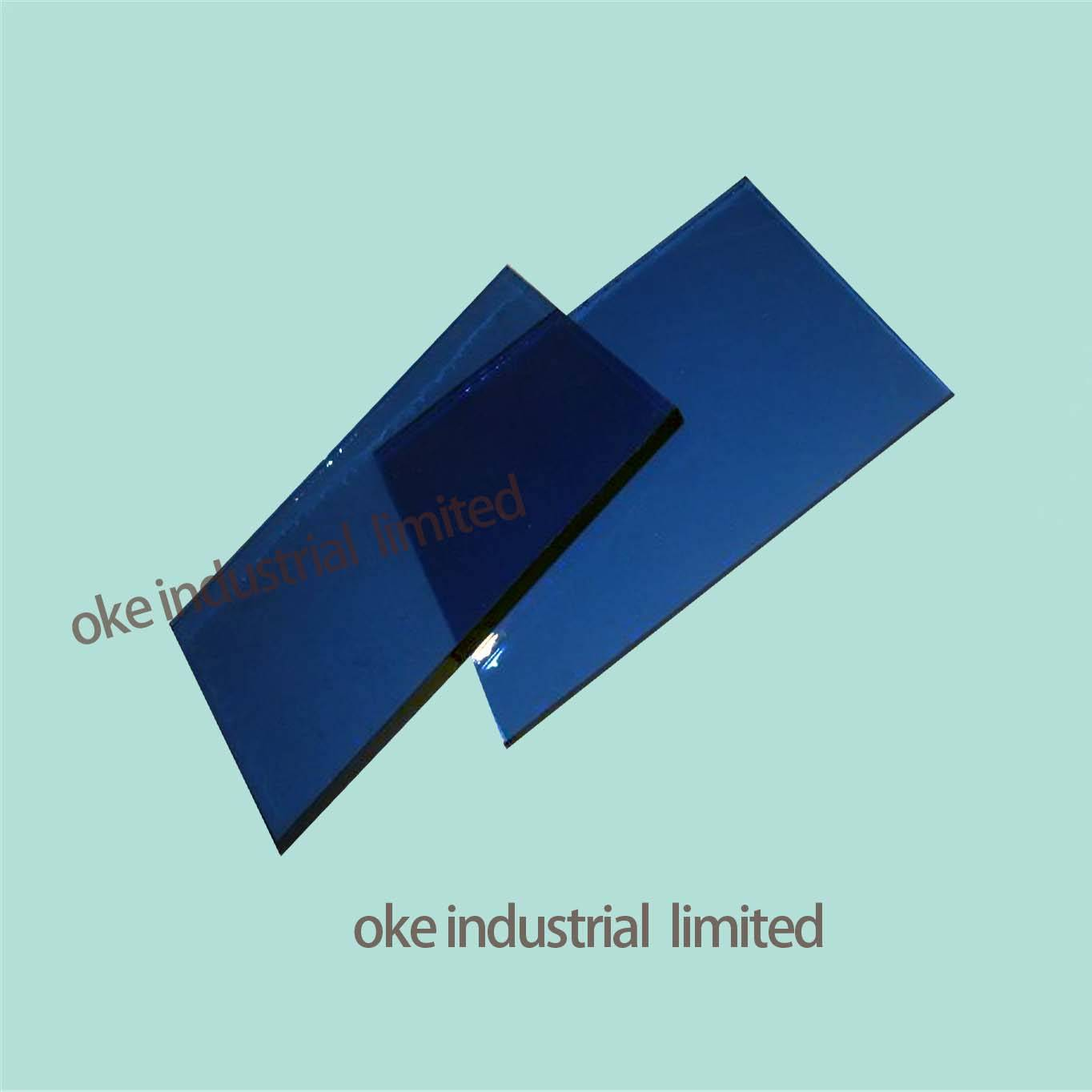 12MM DARK BLUE TINTED GLASS