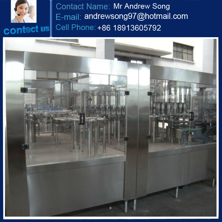 Automatic Water Washing Filling and Capping 3 in 1 Machine