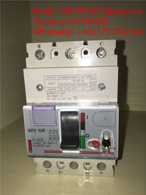 Legrand type DPX Molded case circuit breaker/MCCB 3P/4P