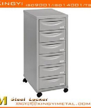 Factory Sale 6 Drawer Multi Filing Cabinet Grey
