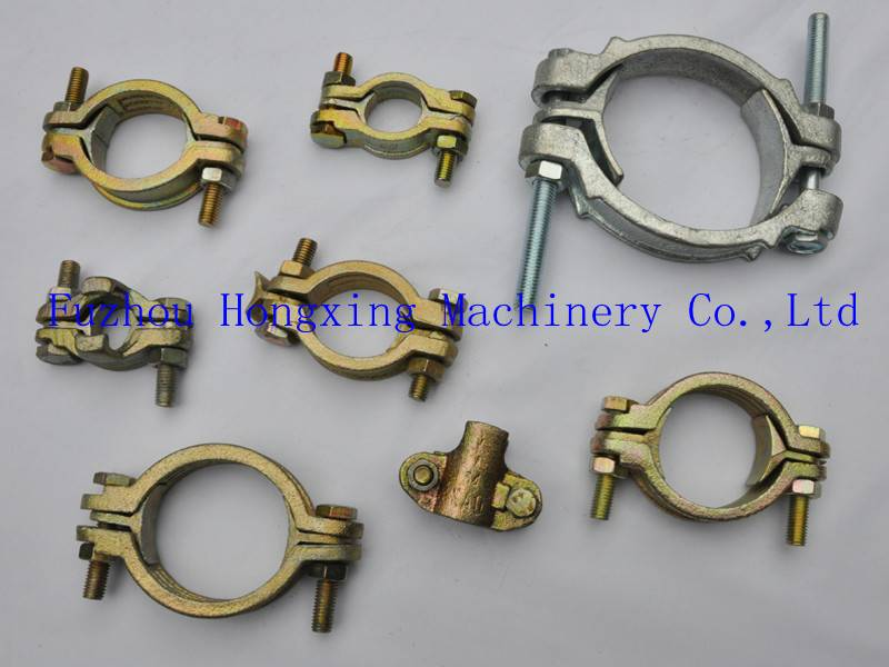 Double T-bolt hose clamp