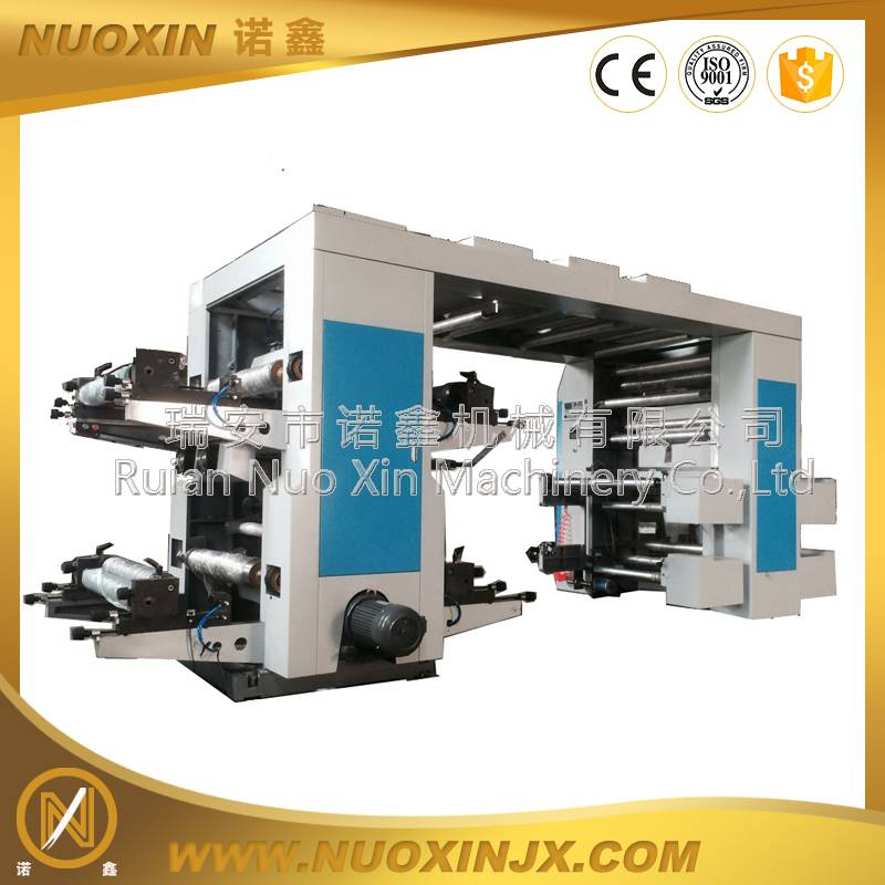 NX-41400 4 Color hIgh Speed Flexographic Printing Machine