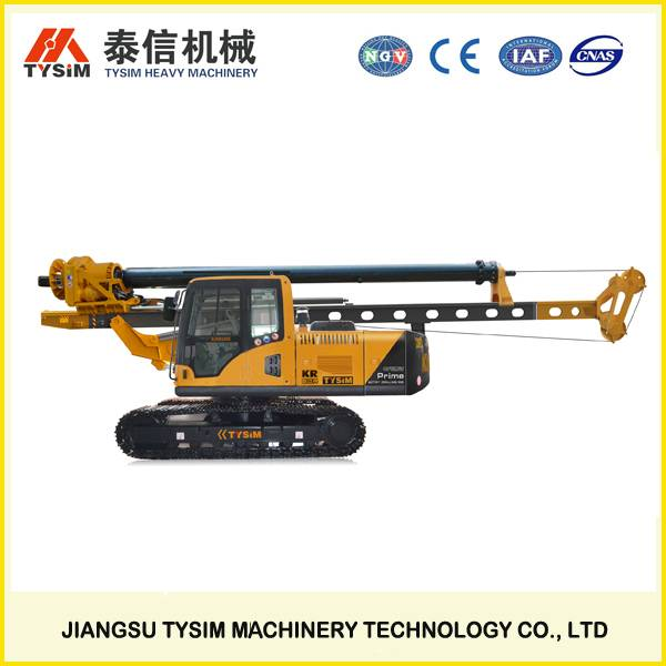 hydraulic rotary drilling rig KR80A, TOP earth drilling machine