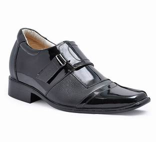 Newest fashion Men's dress shoes with genuine leather