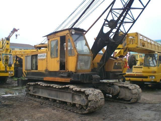 Used crawler crane hitachi kh125,hitachi used track crane kh125