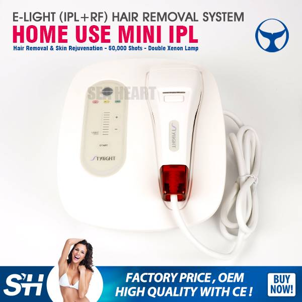 Home use Mini IPL machine for hair removal and rf skin rejuvenation