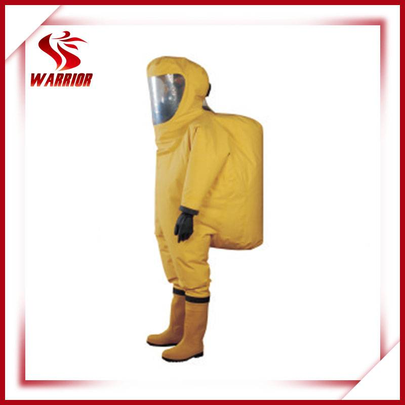 Heavy-duty chemical protective suit chemical safety suit