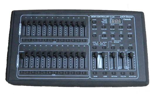 24ch DMX dimming console DC-1224