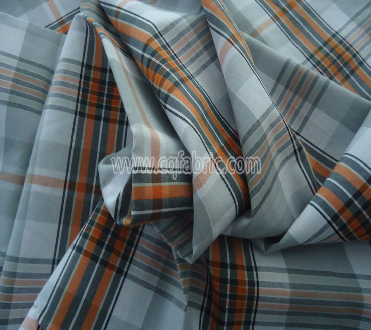 50D plain polyester yarn dyed fabric CWC-087