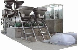 Batch Fertilizer Formulating Packing Line Fertilizer packing process