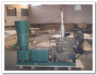 Diesel pellet mills 50hp KJ-ZLMP300DE