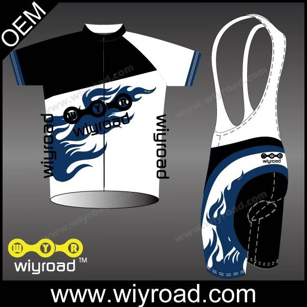 Accept sample order team bicycle clothing/custom sublimated cycling bib shorts/2015 pro cycling jers