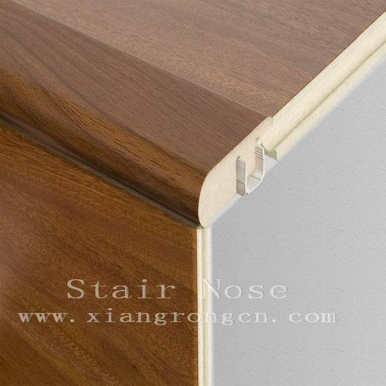 Stairnose for laminate floor