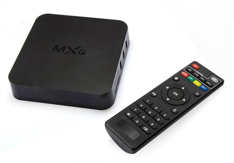 KODI Pre-install MXQ Amlogic S805 Android TV BOX Quad core 1GB/8GB Android 4.4 Media Player